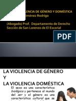 LA VIOLENCIA DE GÉNERO Y VIOLENCIA DOMESTICA D PENAL ESPECIAL ESPAÑA