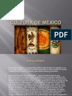 cultura de mxico
