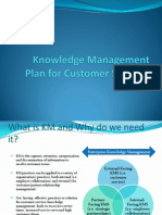 Knowledge Management Plan for Contact Centers