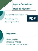 Metodo de Meyerhof Diaz Orduña Videla de Oro