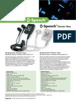 Info B Speech Twister Neo