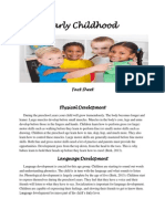 child capstone week 2 assign early childhood