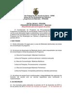 edital 20141mestradoprorrogação