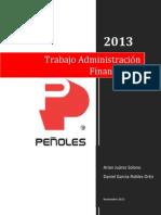 Analisis financiero Peñoles 2012