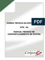 Normas Celpa - Infra Estrutura - Ntd-04