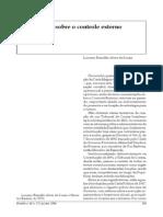 Apreciações sobre o controle externo - Luciano Brandão Alves de Souza