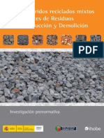 Zz Usos Aridos Reciclados Mixtos Procedentes RCD