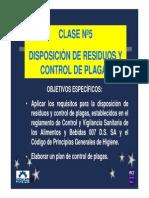 BPM-Control de Plagas y MRS