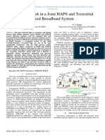 Neural Network in a Joint HAPS and Terrestrial Fixed Broadband System