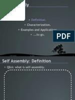 Self-Assembly Presentation