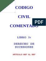 01 - Codigo Civil Comentado - Libro IV - Derecho de Sucesiones - Art. 660 - 880