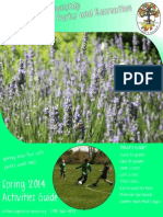 Spring 2014 Activities Guide