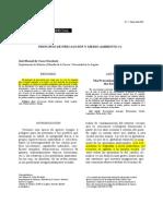 PRINCIPIO DE PRECAUCIÓN Y MEDIO AMBIENTE   José Manuel de Cózar Escalante