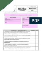 Examen Delimitacion de Areas de Riesgo Barricadas