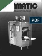 Adamatic Model ADR 2c 2 Poket Divider Rounder
