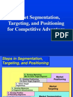 Chapter 08 Market Segmentation, Targeting, And Positioning for Competitive Advantage