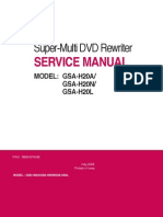 LG GSA-H20x Super-Multi DVD Rewriter SvcMnls