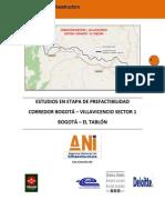Apendice 1 Parte Especial Bogota - Villavicencio Sector 1