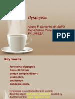 Dyspepsia + GERD