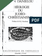 J Daniélou-Histoire des doctrines chrétiennes avant Nicée 1 _ Théologie du judéo-christianisme