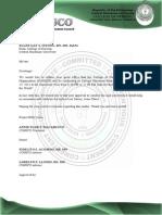 Communication Letters 2nd Semester