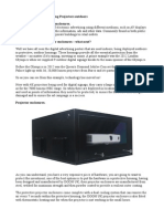 Digital Signage and Projector Protection