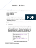 Documentación - Adquisidor Datos - Matlab