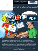 Is the Web corrupting the values of our youth? by Huw Davies