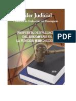 PROPUESTA DE EVALUACION DEL DESEMPENO EN LA FUNCION JURISDDIONAL NOVIEMBRE 2010.pdf