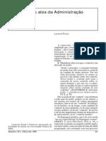 Controle dos atos da Administração Pública - Lafayette Pondé