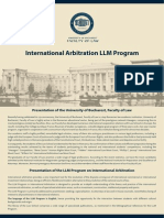 Prezentare Program LLM 2013