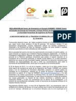 Declaracion COENER, CEDICE, GO y SVIP a 18 Meses Del Accidente de Amuay 250214
