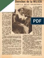 Los Derechos de La Mujer - Iris- 1932