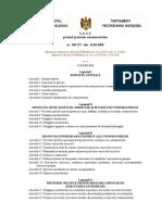 3.1.9  Legea privind protecţia consumatorilor (nr. 105-XV, 13.03.2003)