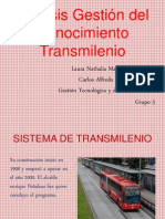 Sistema de Transmilenio - Copia
