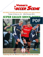 Women's Soccer Scene No. 24 2013-14