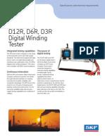 D12R - Especificaciones - Ingles