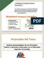 Exposición del modelo a utilizar en la situación Objeto de Estudio