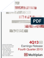 4Q13 Earnings Release