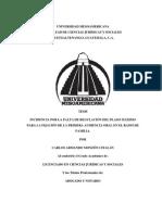 JUICIO ORAL DE ALIMENTOS. LIC. CARLOS MONZÓN