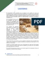 CANTERAS y Rocas Ornamentales