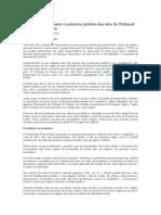 A controvérsia quanto à natureza jurídica dos atos do Tribunal de Contas da União - Carlos Eduardo da Costa Silva