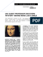 "LG Williams Discovers ""The Mystery of The Mona Lisa"" by Leonardo da Vinci 2005"