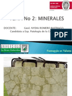2. MINERALES
