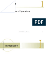 The Nature of Operations
