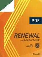 Cadet Renewal Plan