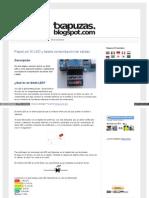 Txapuzas Blogspot Com Es 2009 12 Paperled El Led y Tarjeta c