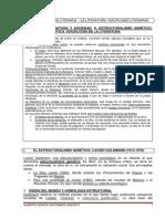 TEMA 5 - ESTRUCTURALISMO GENÉTICO. LITERATURA Y POLÍTICA.