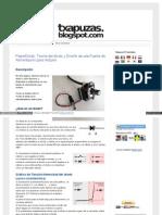 Txapuzas Blogspot Com Es 2009 12 Paperdiodo Teoria Del Diodo