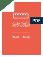 Tuenti Guides Educadores